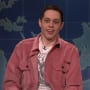 Pete Davidson Returns to SNL, Touches on Suicide Threat